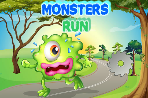 Image Monsters Run