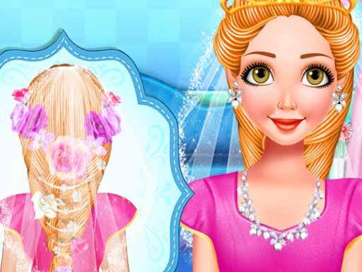 Princess Bridal Hairstyle online hra
