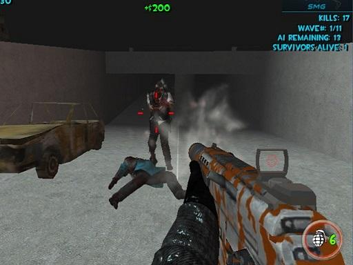 Zombie Apocalypse Tunnel ...