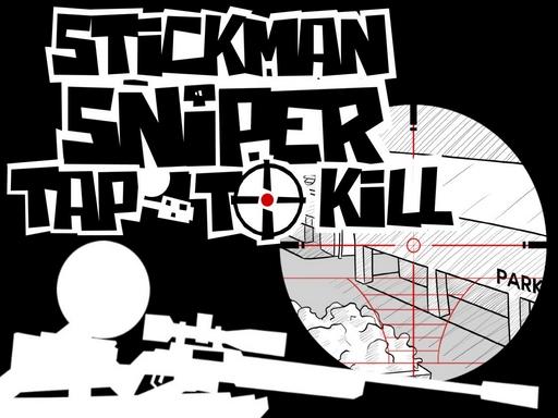 Stickman sniper Tap to kill online hra
