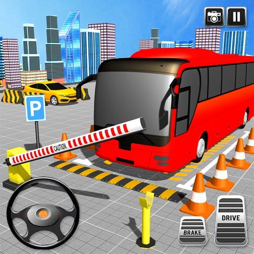American Tourist Bus Simulator-Bus Parking