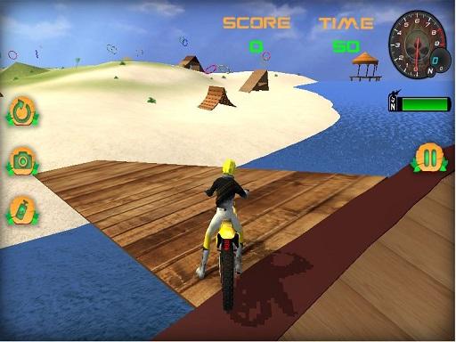 Moto Beach Jumping ...