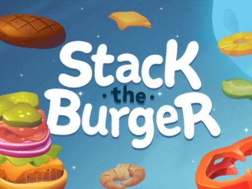 Stack The Burger online hra