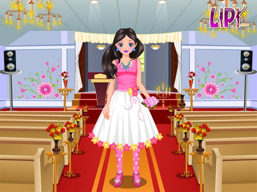 Flower Girl Dressup