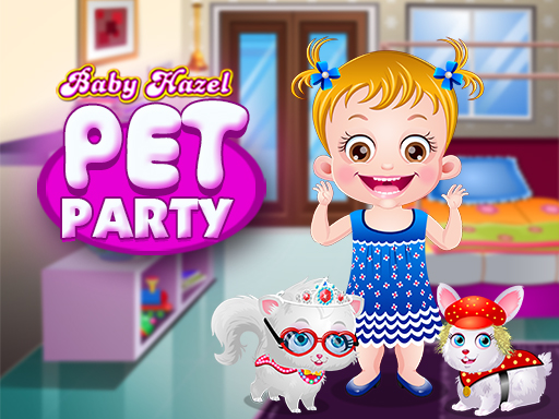Baby Hazel Pet Party game