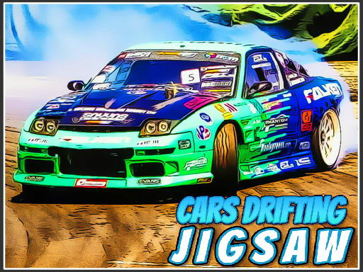 Cars Drifting Jigsaw