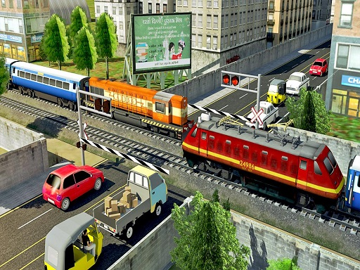 Modern Train Driving Simulator: City Train