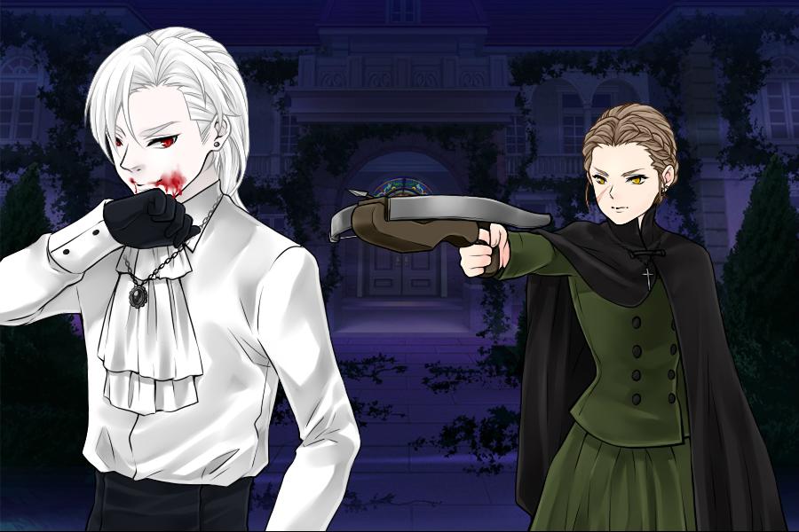 Manga Creator: Vampire Hunter page.1