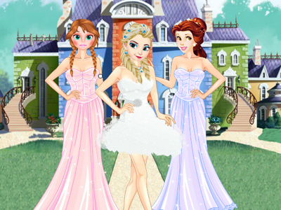 Girls Ball Dress up