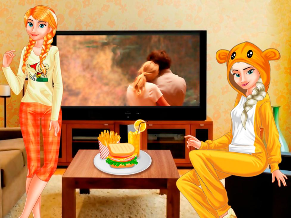 Princesses Movie Evening