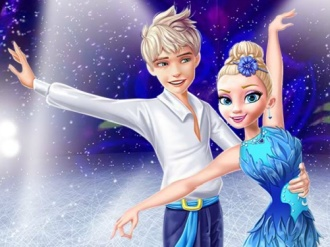 Ellie and Jack Ice Dancing online hra