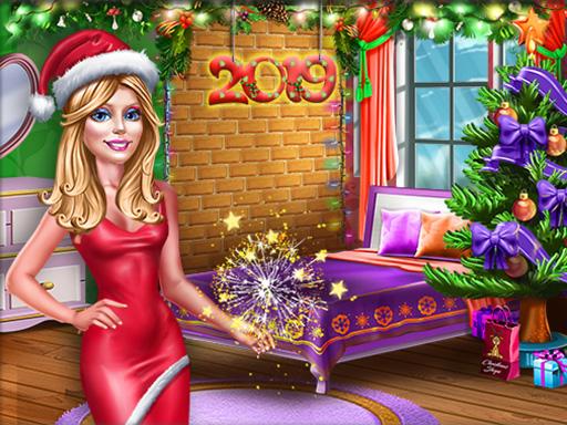 Ellie New Year Room Deco online hra