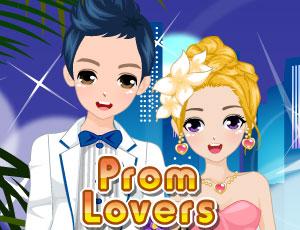 Pretty Prom Lovers online hra