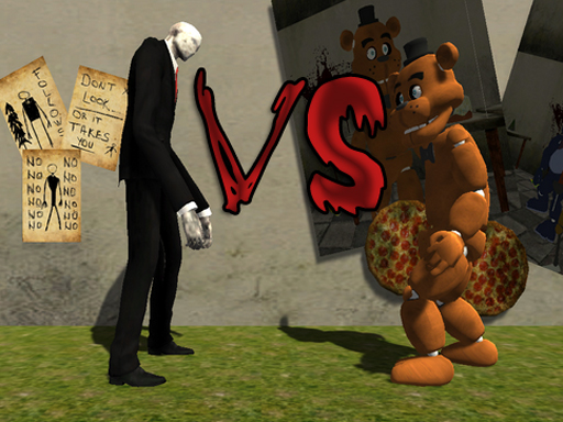 Slenderman VS Freddy The Fazbear online hra