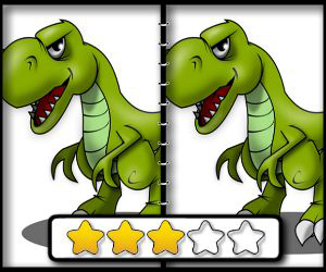 Dinosaur Spot The Difference online hra