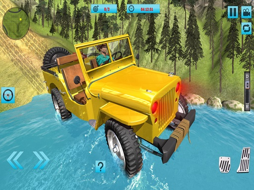 Offroad Jeep Driving 3D : ...