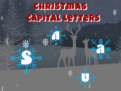 Christmas Capital Letters