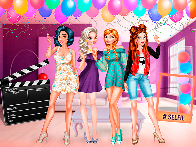 First Party Host: Princess Style online hra
