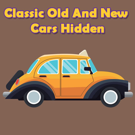 Classic Old And New Cars Hidden