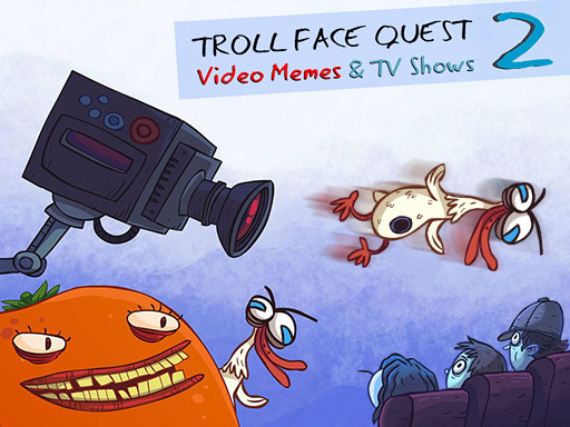 Troll Face Quest Video Memes and TV Shows: Part 2 online hra