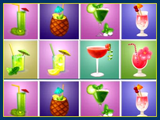 Cocktails Puzzles online hra