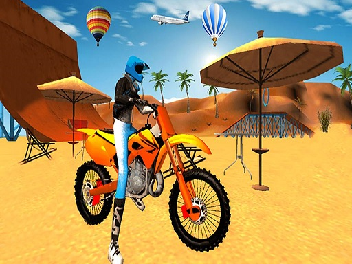 Motocross Beach Game : ...
