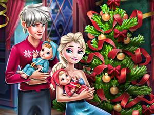 Elsa Family Christmas online hra