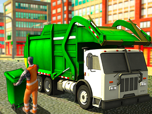 Real Garbage Truck game