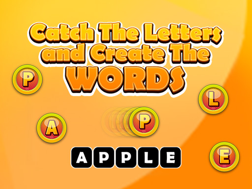 Catch The Letters and Create The Words Game