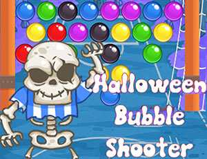 Halloween Bubble Shooter online hra