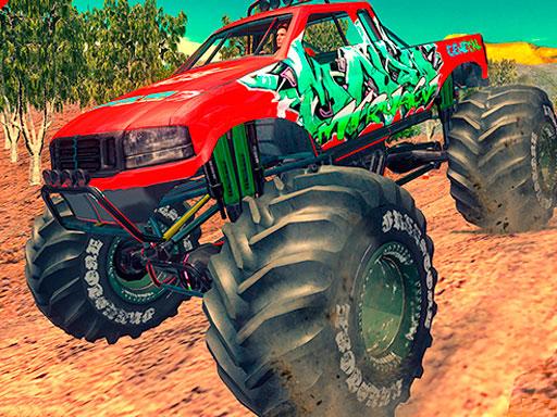 Monster 4x4 Offroad Jeep Stunt Racing 2019 online hra