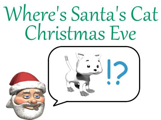 Where's Santa's Cat ...