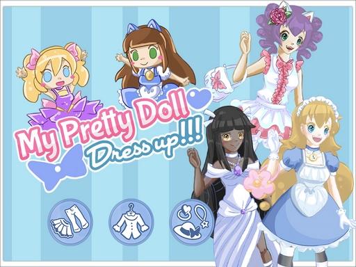 My Pretty Doll Dress Up online hra