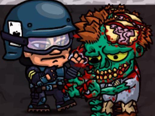 Swat vs Zombies 2 online hra