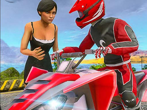 ATV Quad Bike Taxi Game