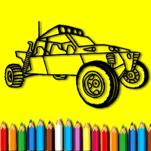 BTS Rally Car Coloring Book