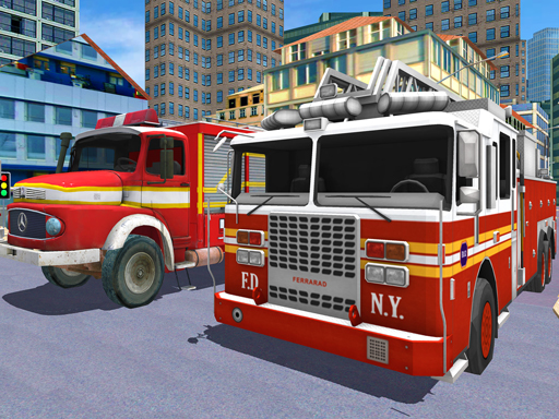 City Fire Truck Rescue