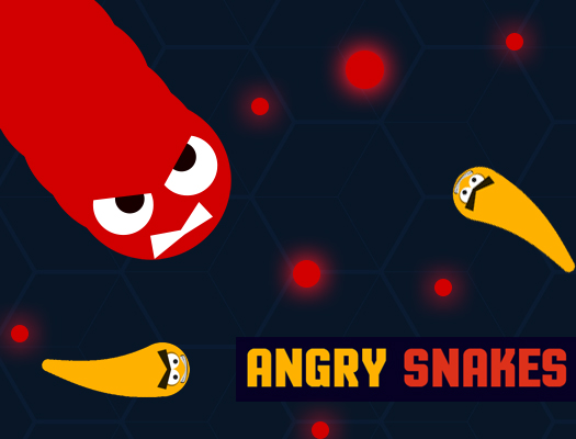 Angry Snakes online hra