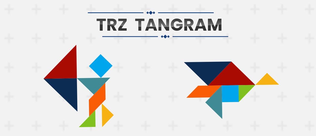 TRZ 七巧板--TRZ Tangram-你喜歡形狀嗎? 要安裝七巧板拼圖,請將棋子拖到它們的位置; 如有必要,請旋轉它們。 有 39 個七巧板拼圖 + 免費模式!