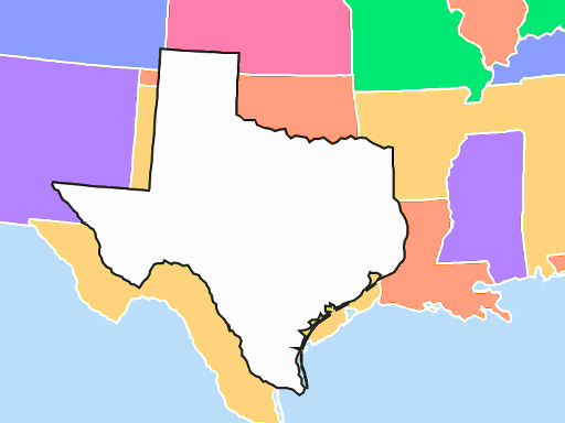 USA Map Quiz online hra