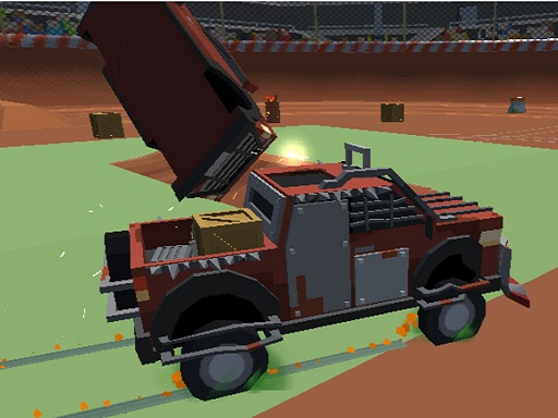 Pixel Car Cash Demolition v1