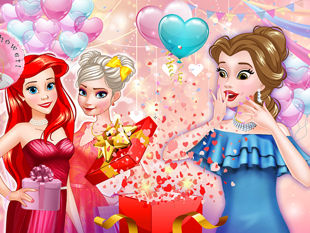 Princess Bridal Shower Party online hra