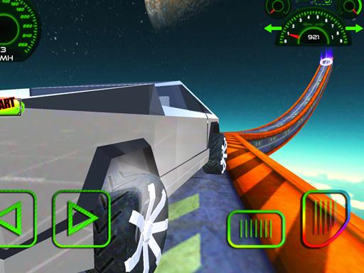 Cyber Truck Race Climb