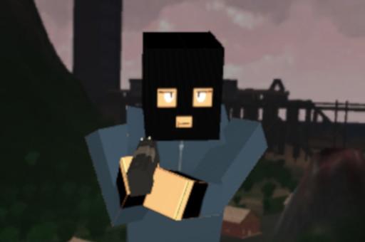 Pixel battle royale multijoueur