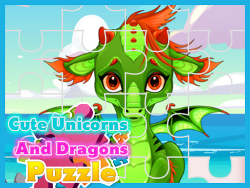 Cute Unicorns And Dragons ...