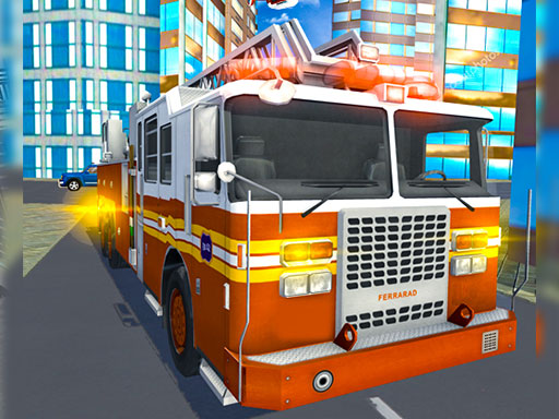 Fire City Truck Rescue Driving Simulator 2019