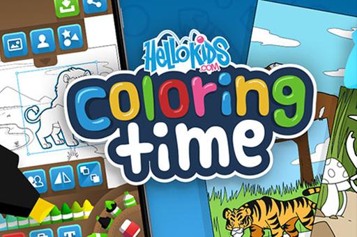 لعبة تلوين مجاني للأطفال