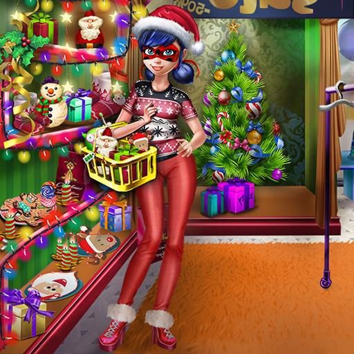 Benekli Kız Noel Alışverişi