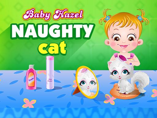 Baby Hazel Naughty Cat game