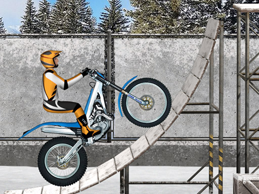 Trials Ice Ride Game